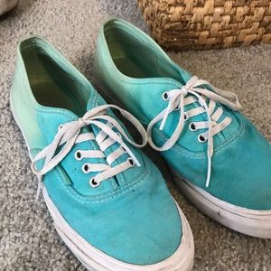 Hombre low-top Vans sz 8 (womens)